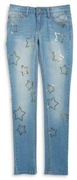Vigoss Girl's Sequined All Star Jeans