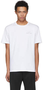 Raf Simons White Substance T-Shirt