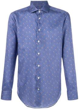 Etro square and paisley print shirt