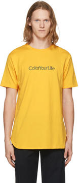 Nonnative Yellow Color Your Life T-Shirt