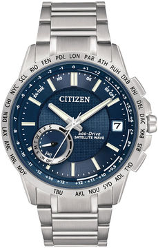 Citizen Eco-Drive Satellite Wave-World Time GPS Mens Watch CC3000-89L