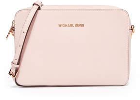 MICHAEL Michael Kors Large East / West Cross Body Bag - SOFT PINK - STYLE