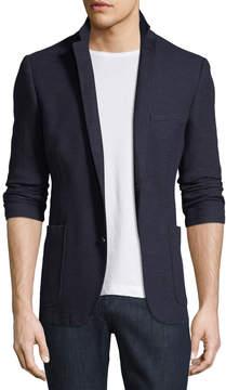 English Laundry Men's Burnley Slub-Knit Blazer Jacket