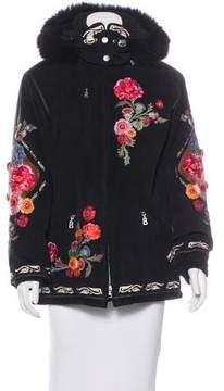Bogner Embroidered Hooded Jacket