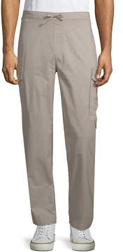 Saks Fifth Avenue BLACK Men's Stretch Cotton Drawstring Pants