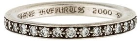 Chrome Hearts Diamond TFL Eternity Band Ring