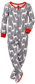 Tea Collection Red Deer Pajamas (Baby & Toddler Boys)