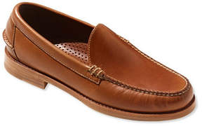 L.L. Bean Signature Men's Handsewn Venetian Leather Loafers