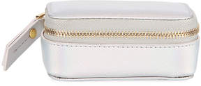 Neiman Marcus Unicorn Small Holographic Faux-Leather Pill Case