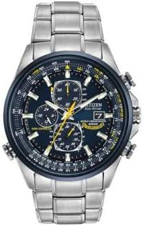 Citizen Mens Eco Drive Silvertone Watch