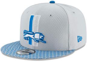 New Era Boys' Detroit Lions 2017 Official Sideline 9FIFTY Snapback Cap