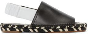 Proenza Schouler Black Espadrille Sandals