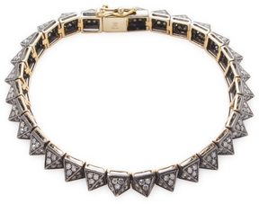 Artisan Women's Spike bracelet with Diamonds