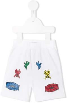 Marcelo Burlon County of Milan Kids Logo shorts