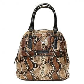 Longchamp Cosmos leather handbag - BROWN - STYLE