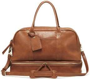 Mason vegan travel satchel