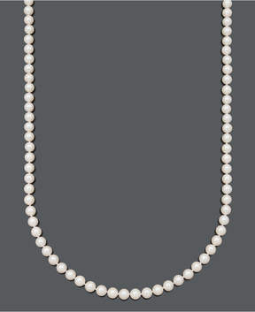Belle de Mer Pearl Necklace, 30 14k Gold A+ Cultured Freshwater Pearl Strand (7-1/2-8mm)