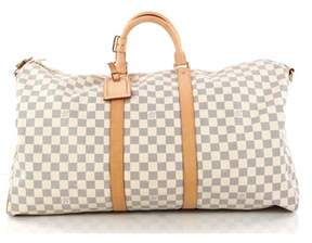 Louis Vuitton Pre-owned: Keepall Bandouliere Bag Damier 55.
