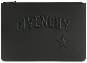 Givenchy logo embossed pouch