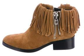 3.1 Phillip Lim Fringe Ankle Boots