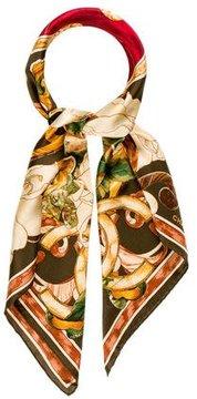 Chanel Floral Print Foulard