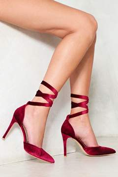 Nasty Gal nastygal Get Your Own Way Velvet Heel