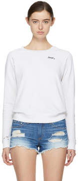 Amo White Loved Sweatshirt