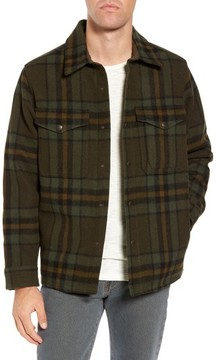 Filson Men's 'Macinaw' Plaid Wool Flannel Shirt Jacket