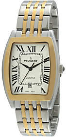 Peugeot Men's Two-tone Tank Watch