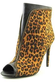 Thalia Sodi Lynda Women Peep-toe Canvas Bootie.