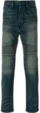 Polo Ralph Lauren biker style faded jeans
