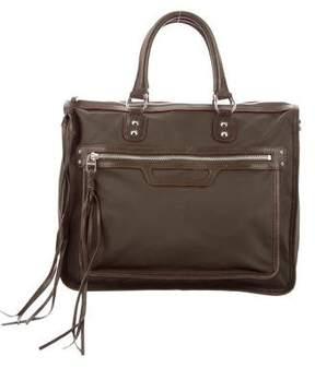 MZ Wallace Nylon & Leather Satchel