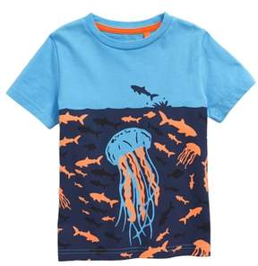 Boden Mini Underwater Screenprint T-Shirt