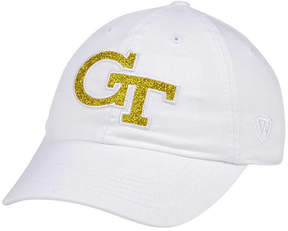 Top of the World Women's Georgia-Tech White Glimmer Cap