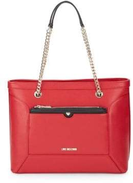 Love Moschino Chain Tote Bag
