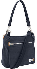 Travelon Anti-Theft Heritage Canvas RFID Hobo Bag