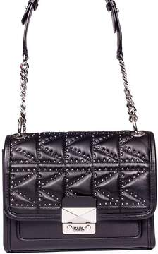 Karl Lagerfeld K/kuilted Studs Small Shoulder Bag