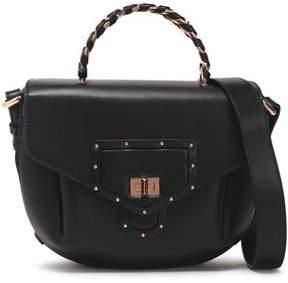 Roberto Cavalli Studded Leather Shoulder Bag