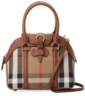 Burberry Milverton Small House Check Bowling Bag - MULTICOLOR - STYLE