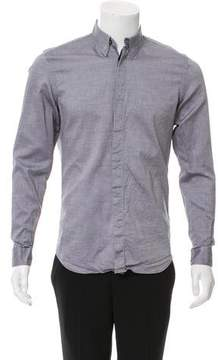 Calvin Klein Collection Woven Button-Up Shirt