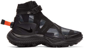 Nike Black NSW Gaiter Boot High-Top Sneakers