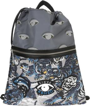Kenzo Eye Patch Drawstring Backpack