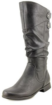 Hush Puppies Gianna Motive Round Toe Synthetic Mid Calf Boot.
