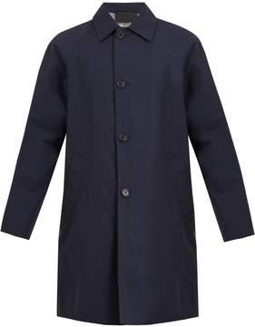 Prada Point-collar raglan overcoat