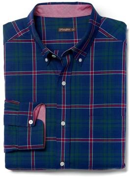 J.Mclaughlin Carnegie Classic Fit Shirt in Plaid