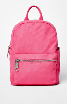 LA Hearts Mini Canvas Backpack