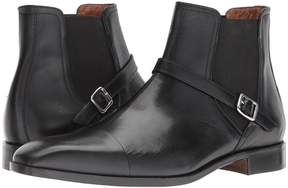 Matteo Massimo Chelsea Buckle Boot Men's Dress Pull-on Boots