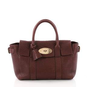 Mulberry Bayswater Burgundy Leather Handbag