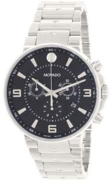 Movado SE Pilot Chronograph Black Dial Men's Watch 0606759
