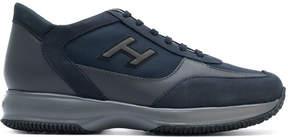 Hogan panelled H sneakers